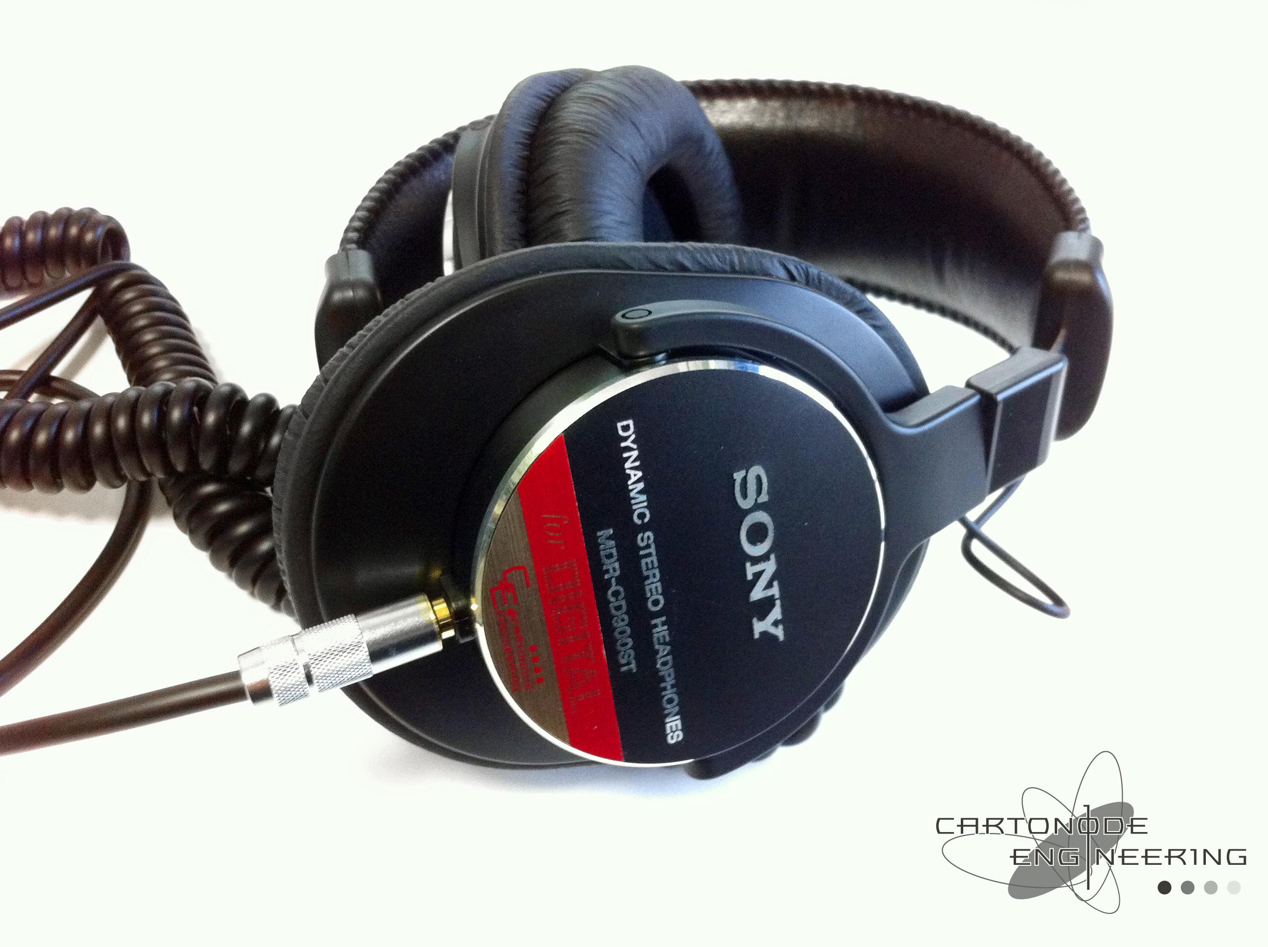 MDR-CD900ST-CE01追加加工