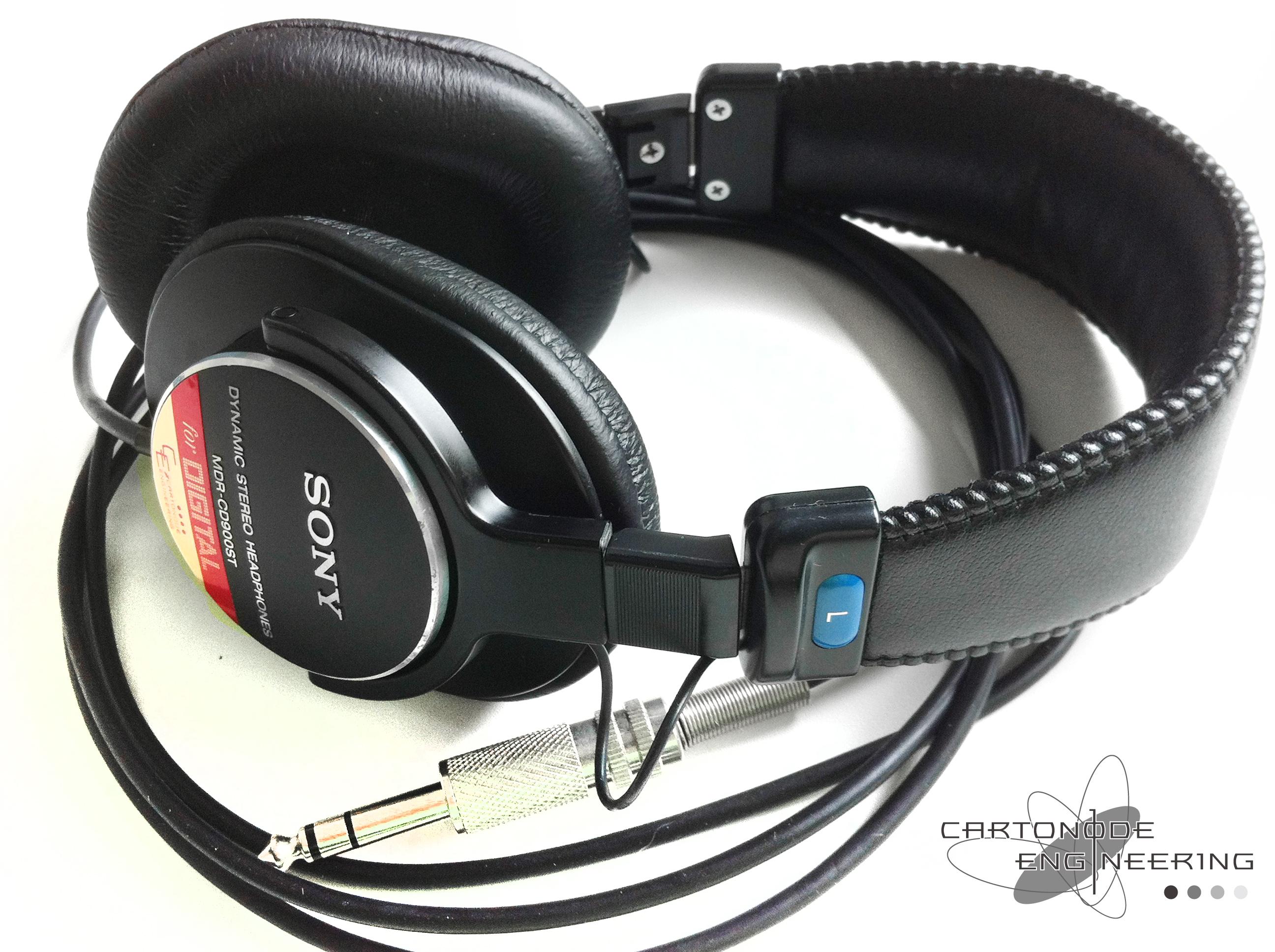 <MDR-CD900ST> ★リケーブル/セットアップ