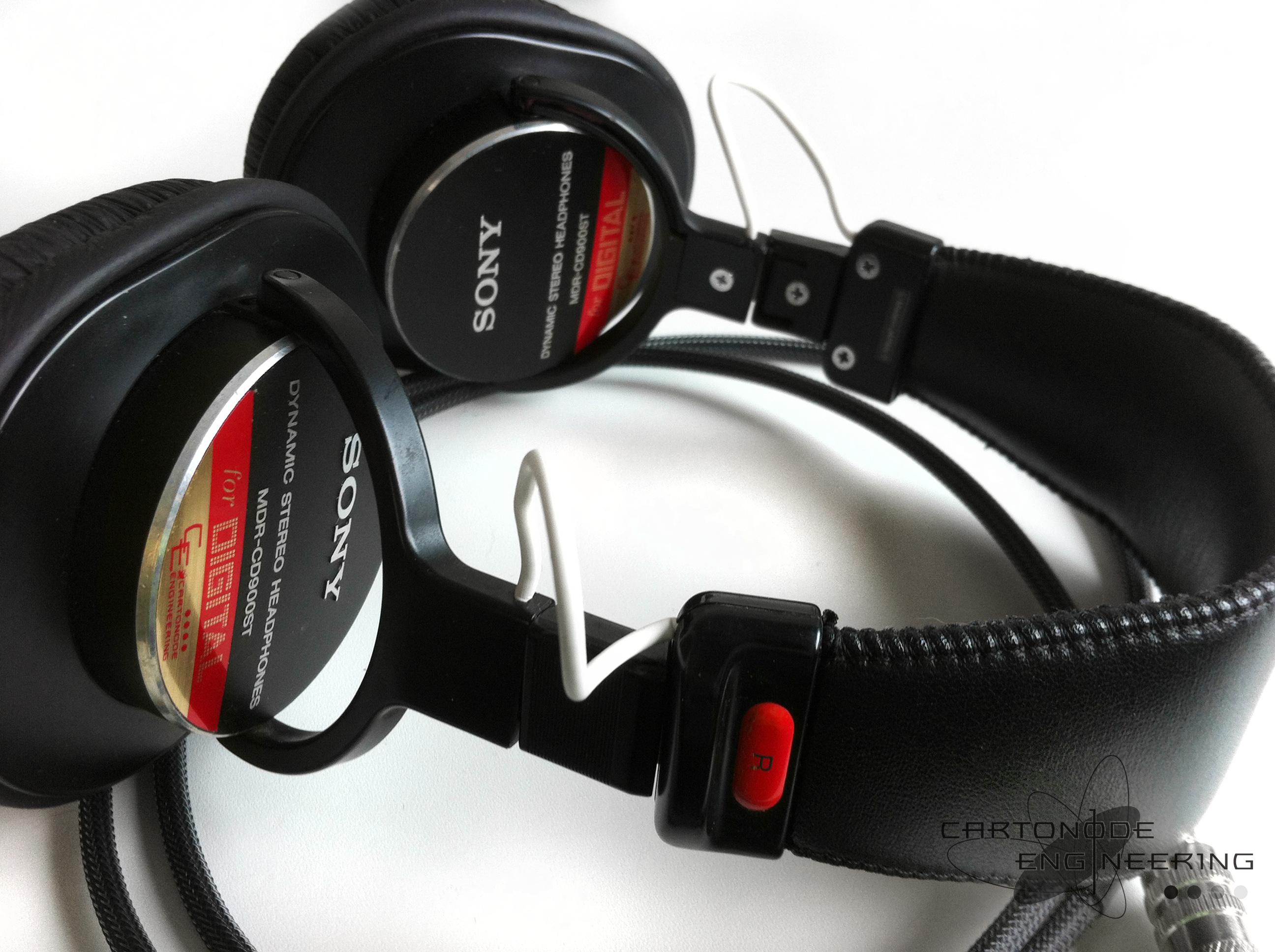 <MDR-CD900ST> ★脱着加工(3芯)/渡り線被覆