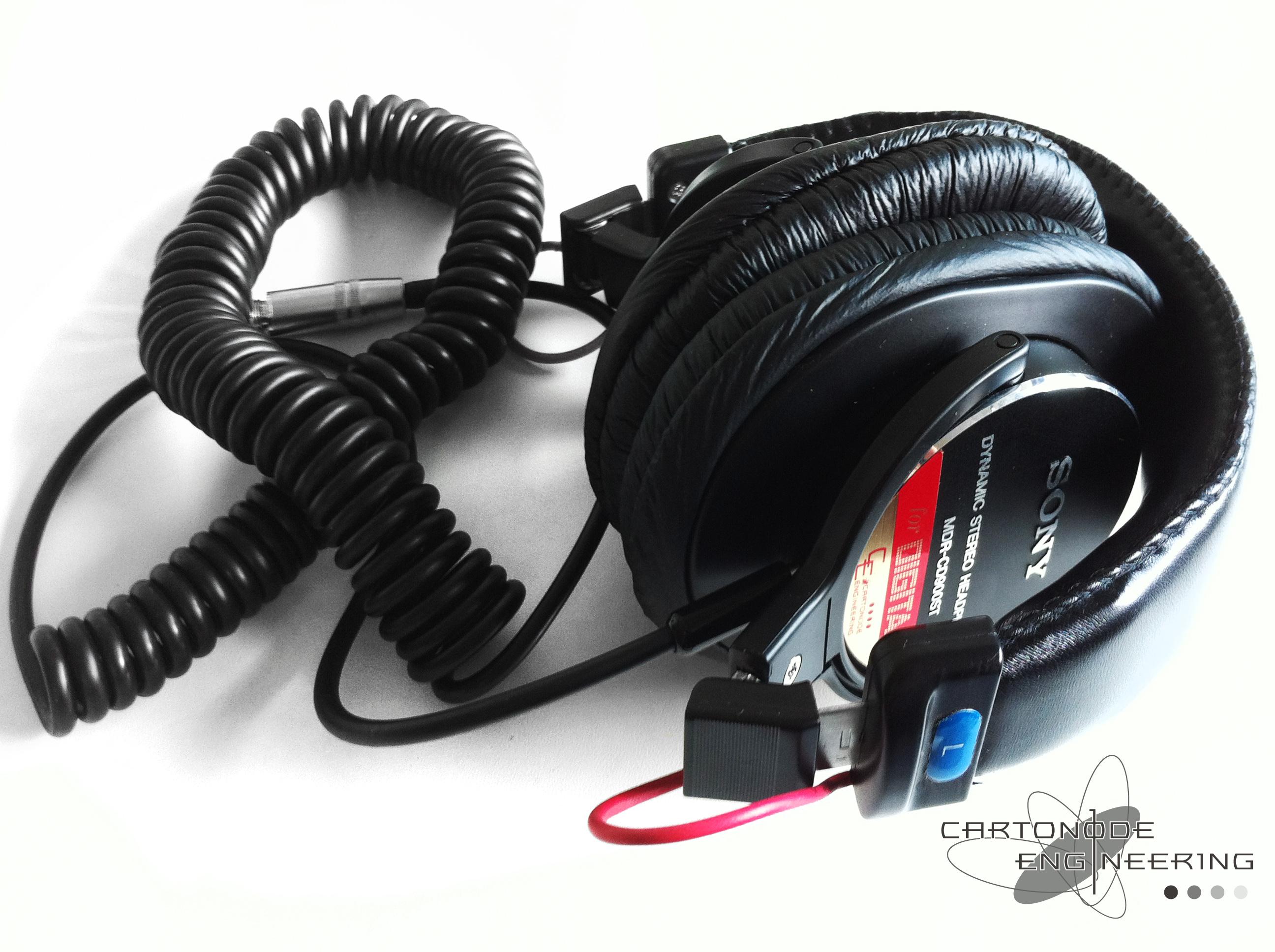 <MDR-CD900ST-CE02改> ★ケーブル修理