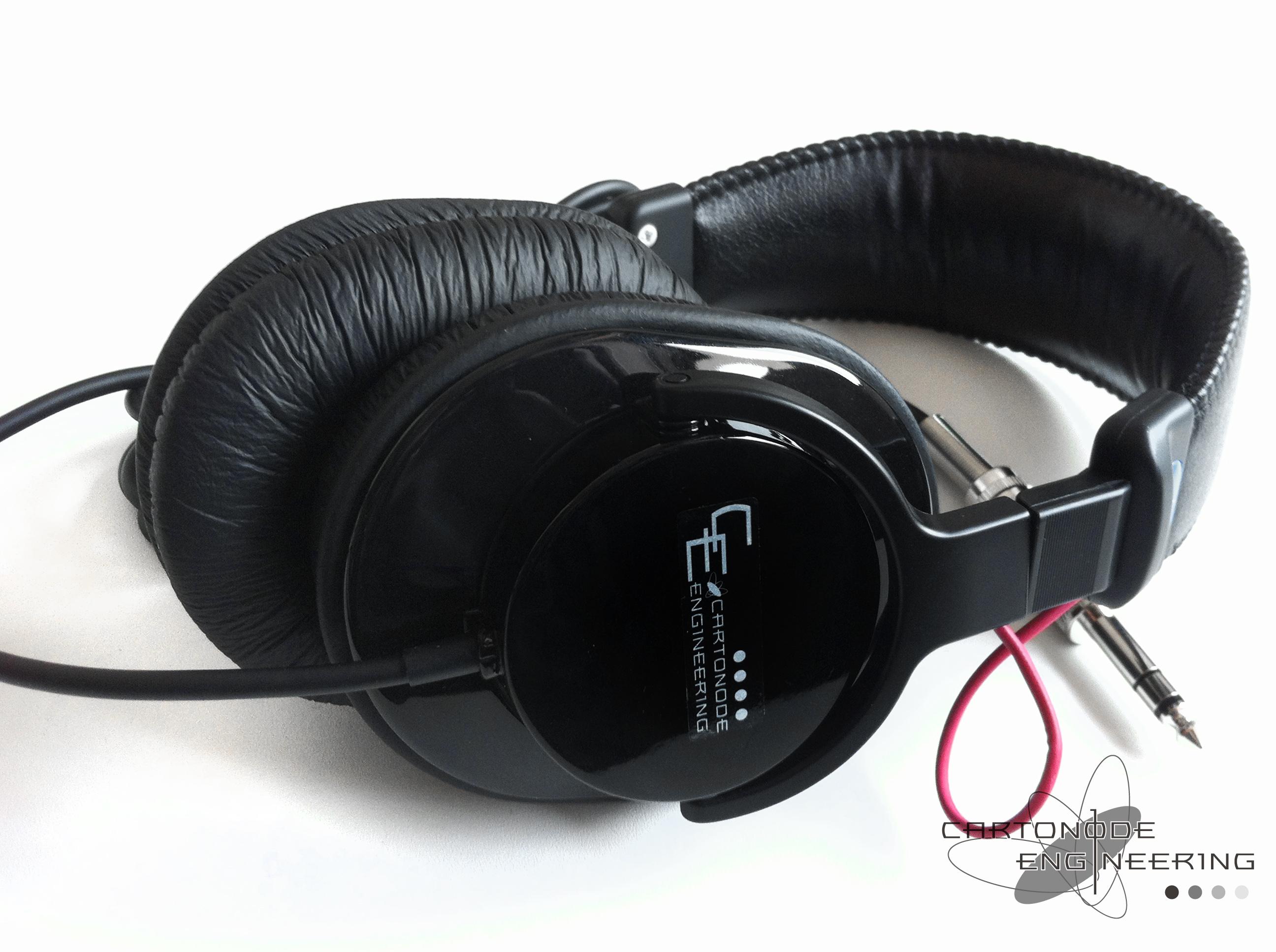 <C.E. MDR-CD900ST-CETDNT>★渡り線加工/イヤーパッド変更