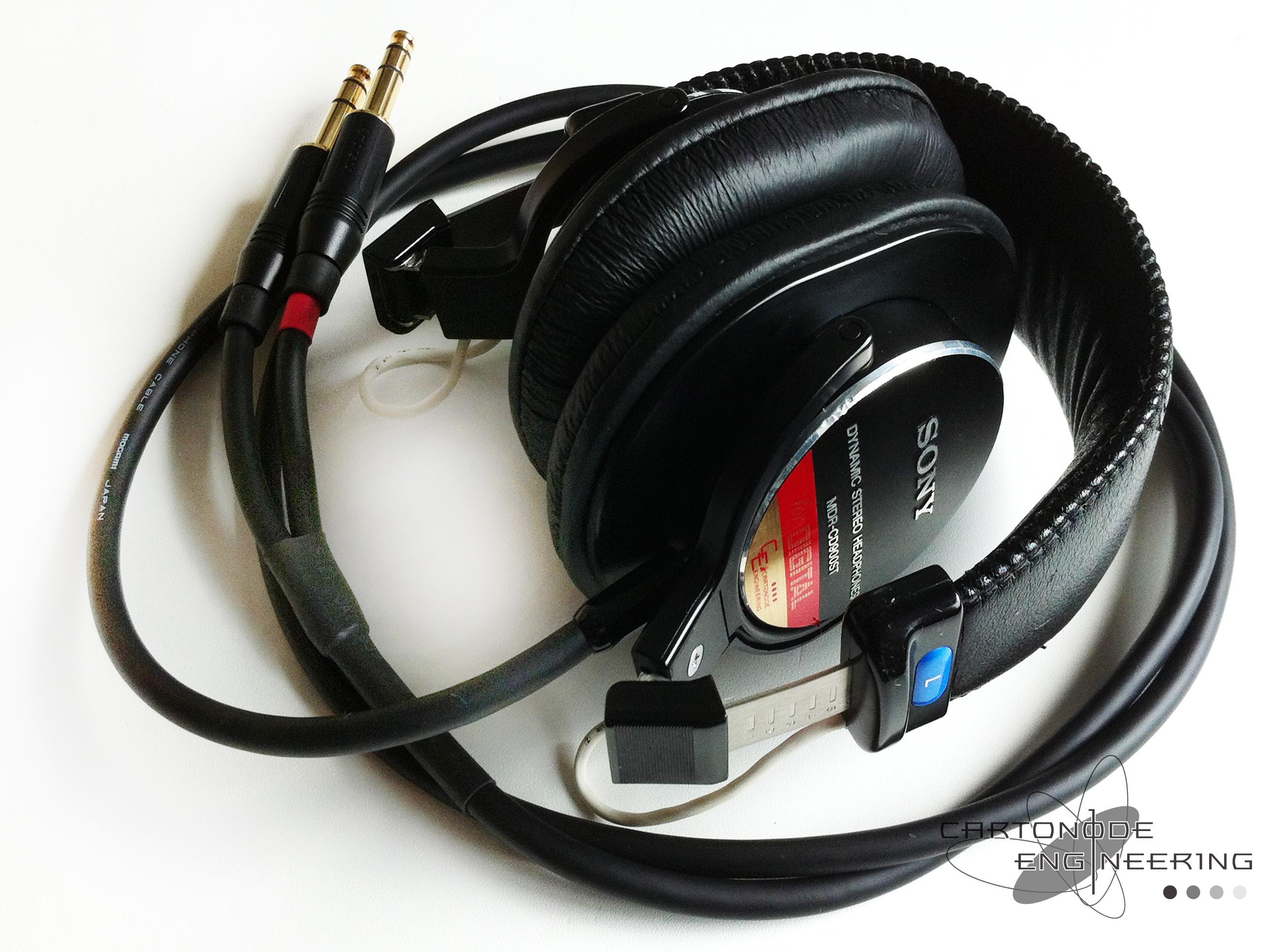 <MDR-CD900ST> ★バランス駆動化/脱着加工/渡り線被覆