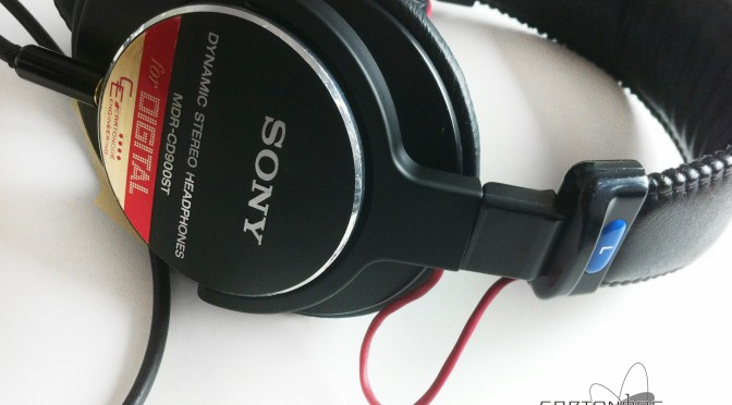 <MDR-CD900ST> ★渡り線被覆
