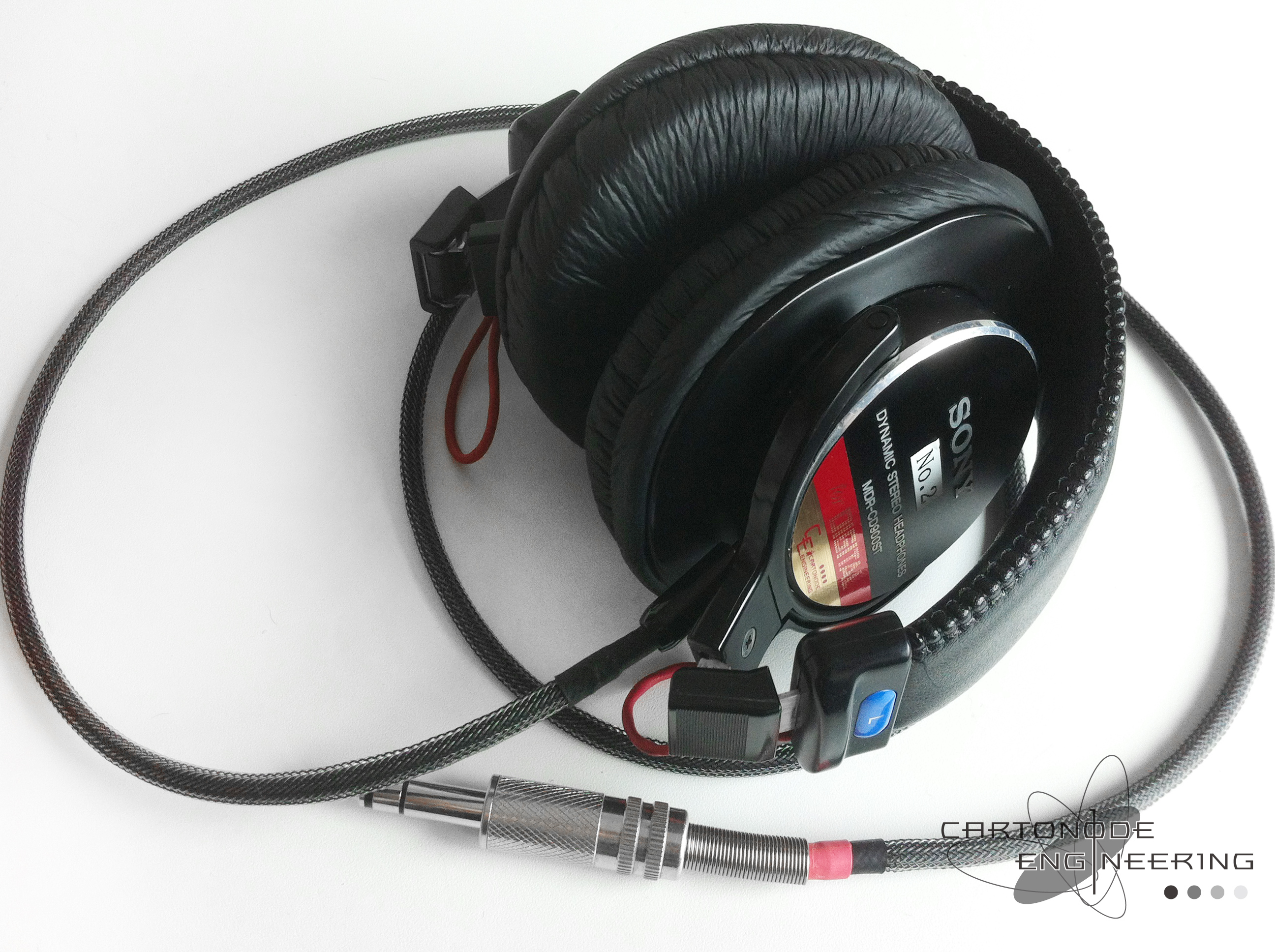 <MDR-CD900ST-CE02> ★脱着ケーブル製作