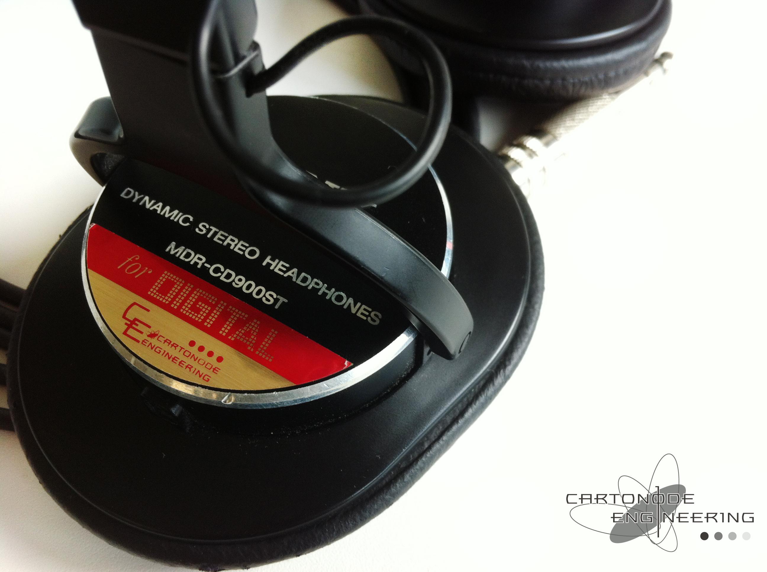 <MDR-CD900ST> ★ケーブル脱着加工/ドライバ交換