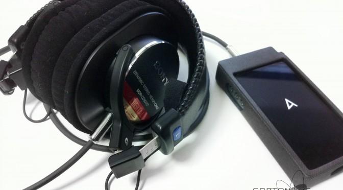 <MDR-CD900ST-CE02> ★Astell&KernAK100II専用バランス駆動カスタム