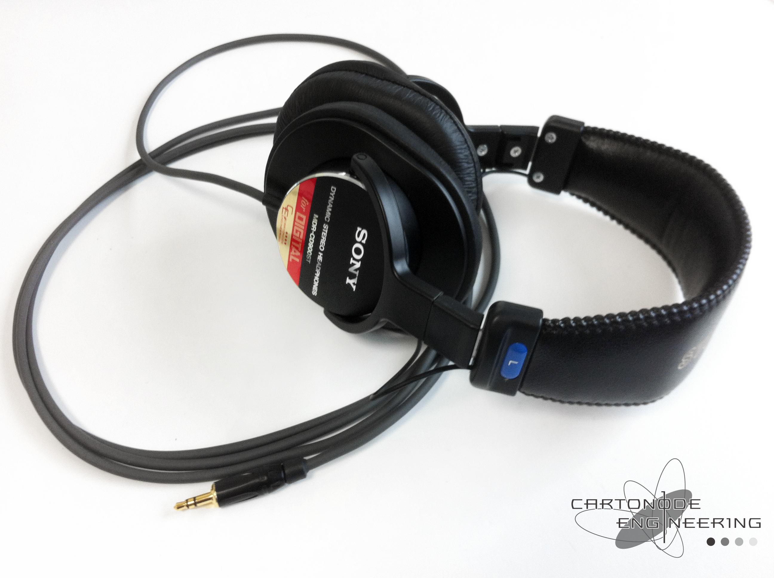 MDR-CD900ST4芯リケーブルφ3.53極