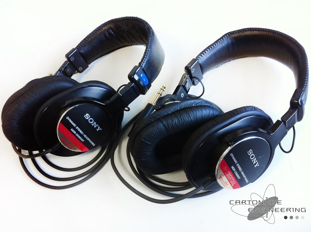 MDR-CD900STリケーブル2台