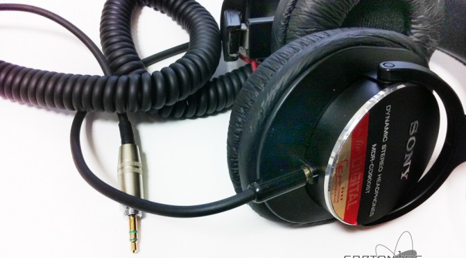 <MDR-CD900ST-CE02MOD>ケーブル修理