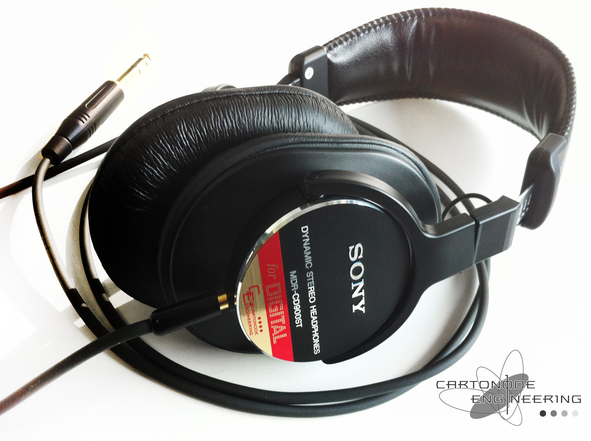 MDR-CD900ST脱着加工