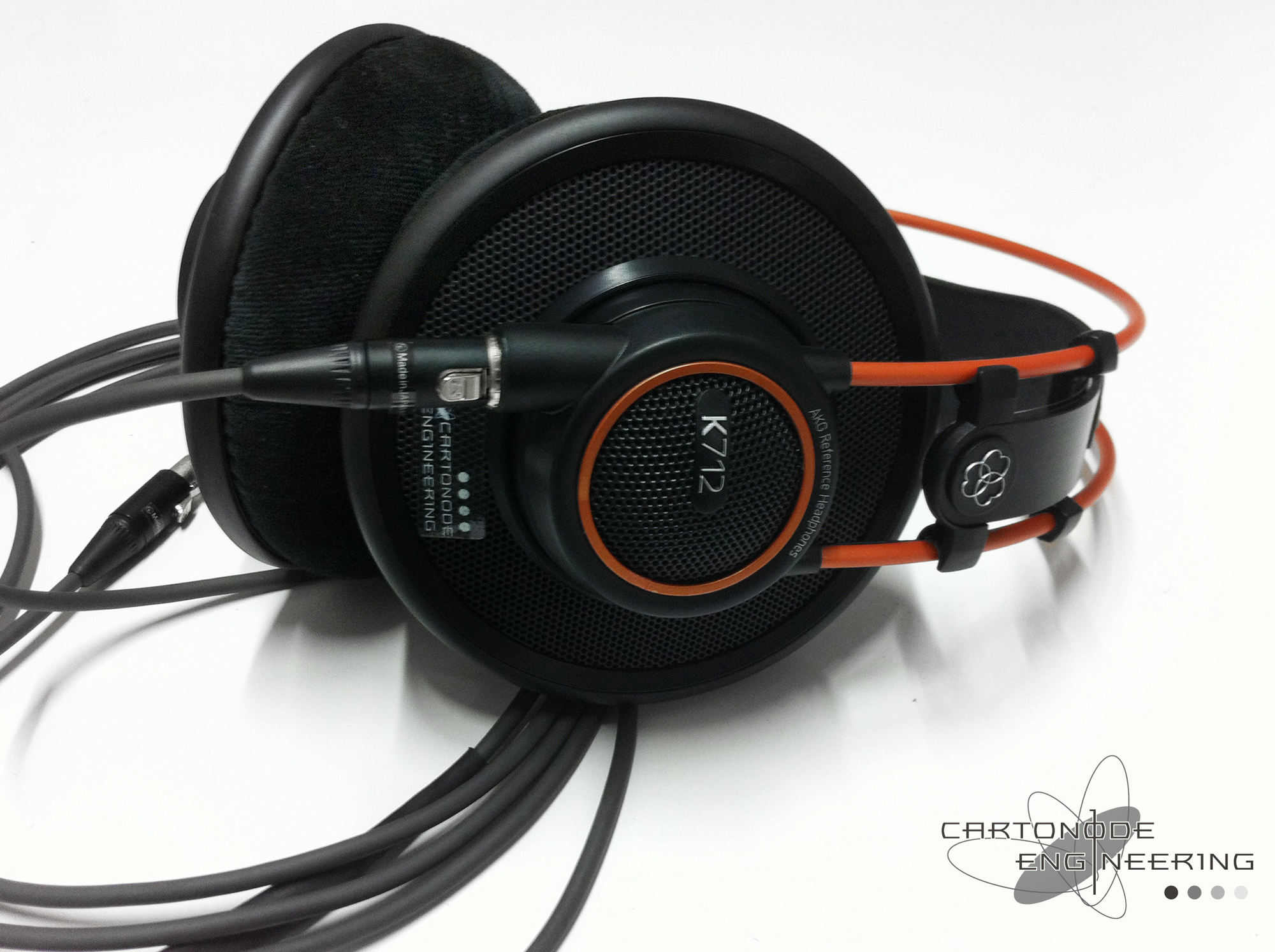AKG K712 バランス化カスタム XLR3PINx2