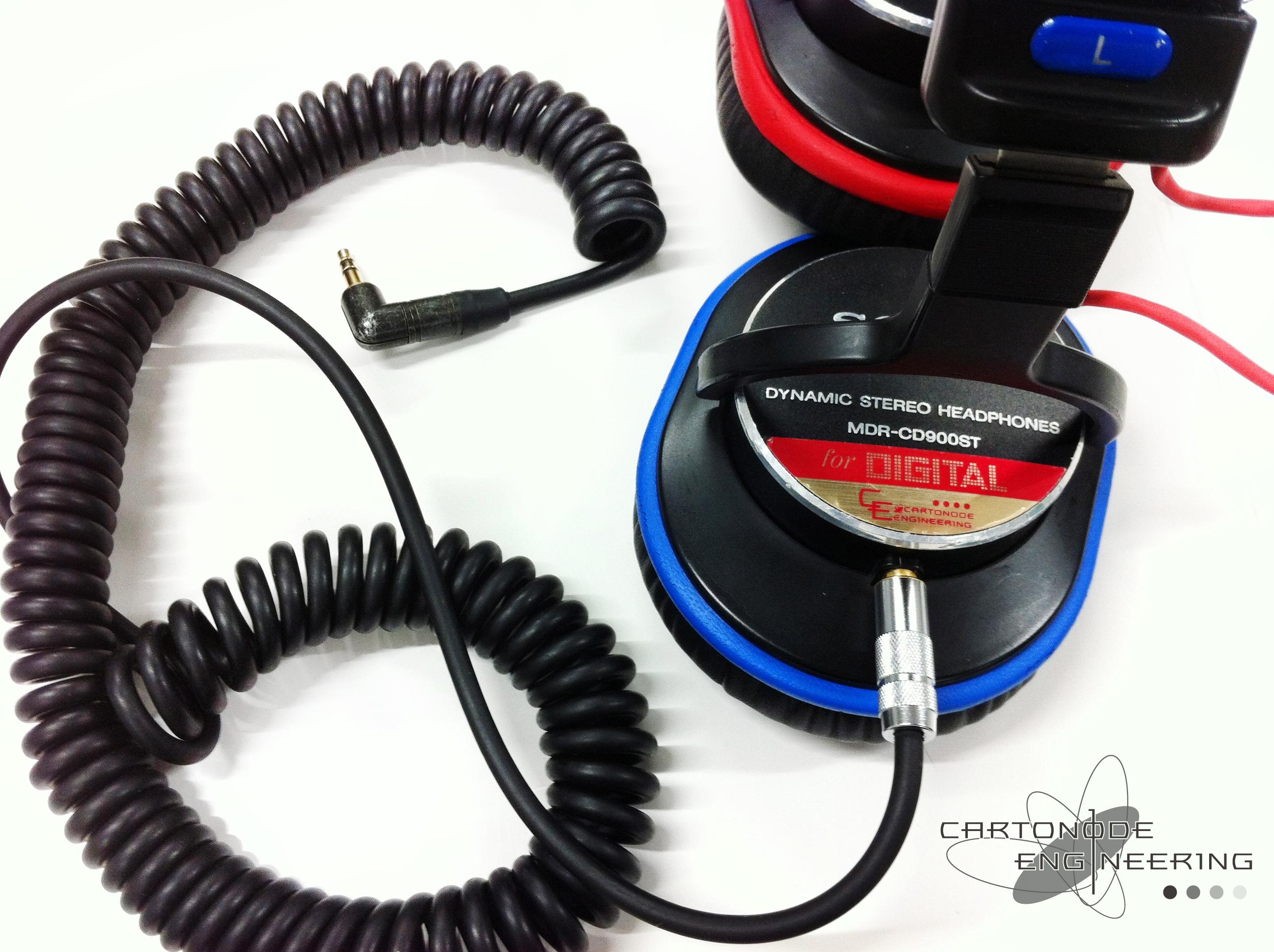 MDR-CD900ST-CE02MODプラグ変更