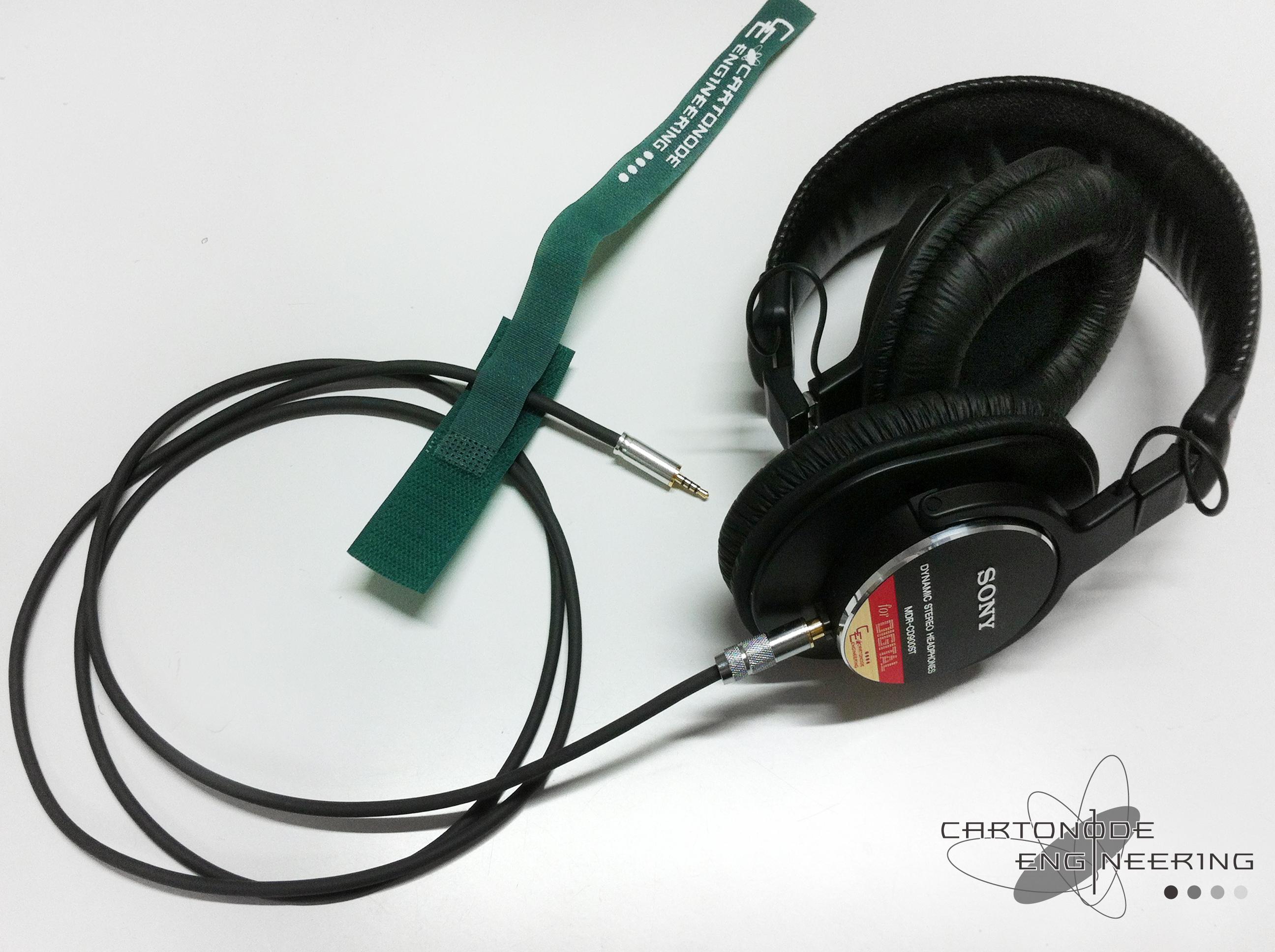 MDR-CD900STMODバランス脱着仕様φ2.5