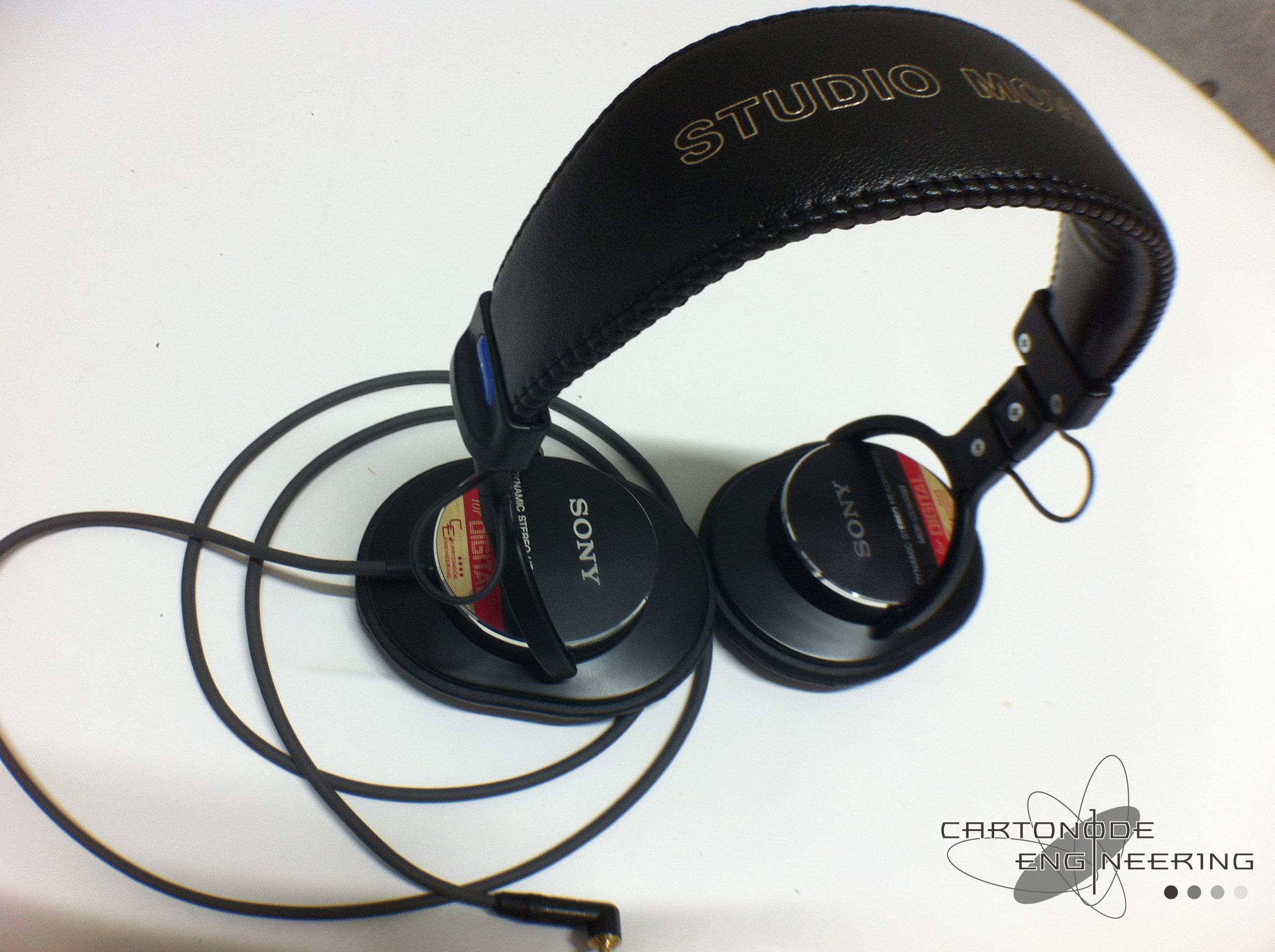 MDR-CD900ST-4芯リケーブル-