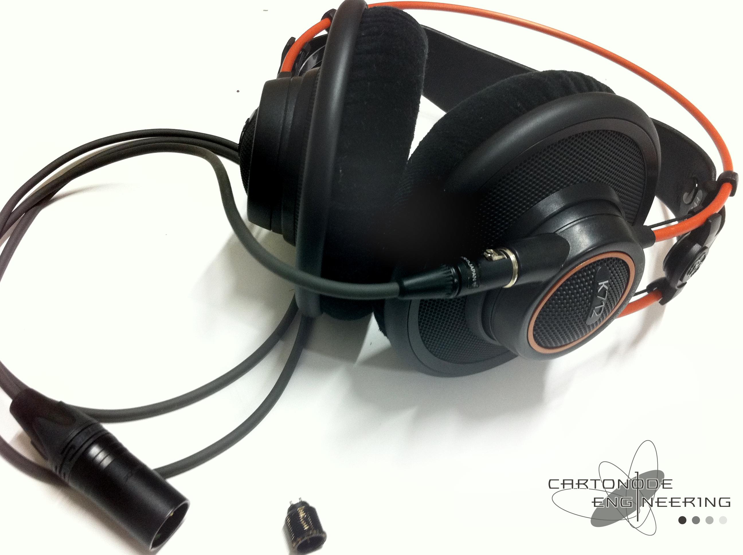 AKG-K712CEMODバランス駆動化4pXLR