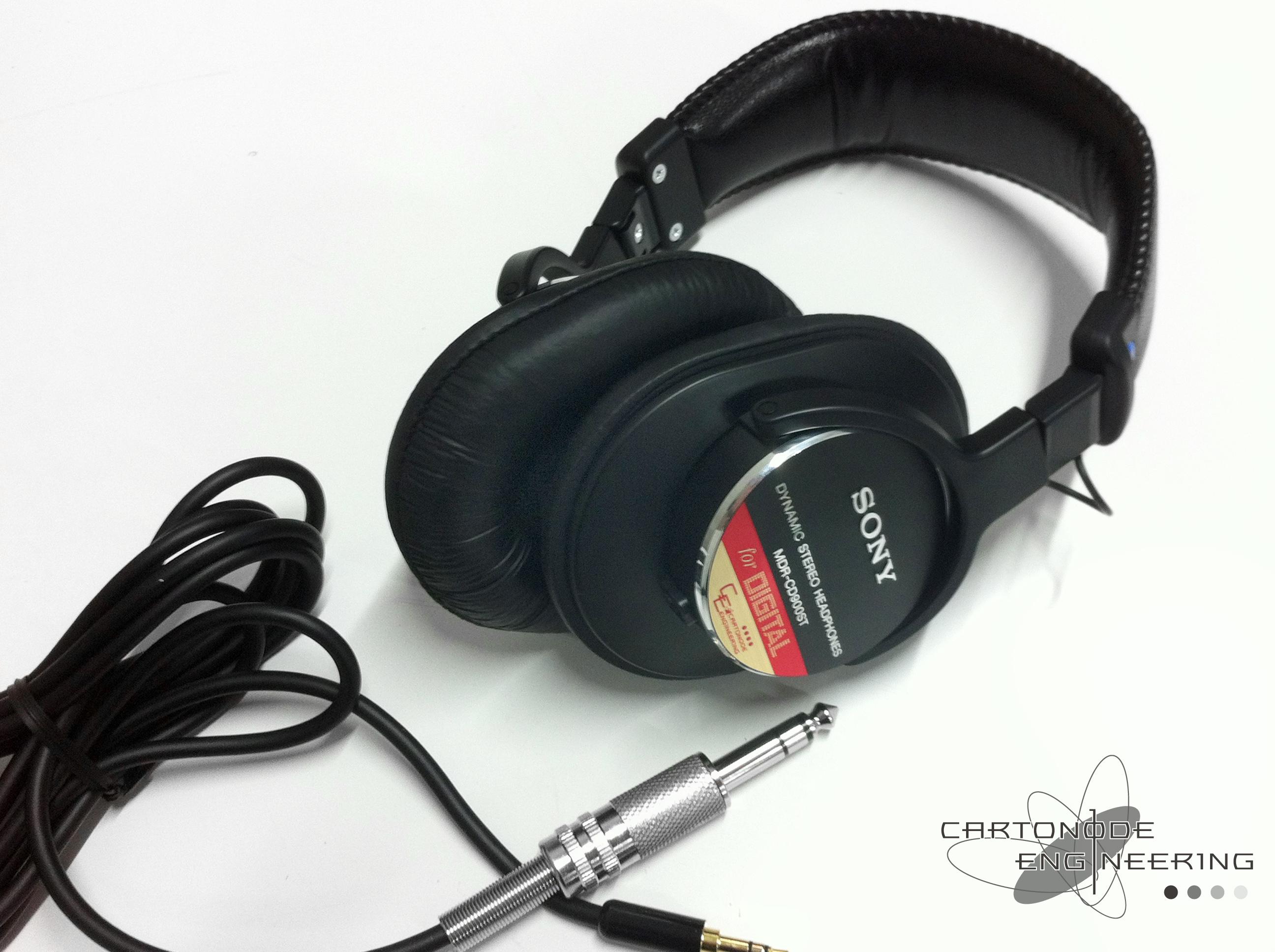 MDR-CD900STケーブル脱着カスタム