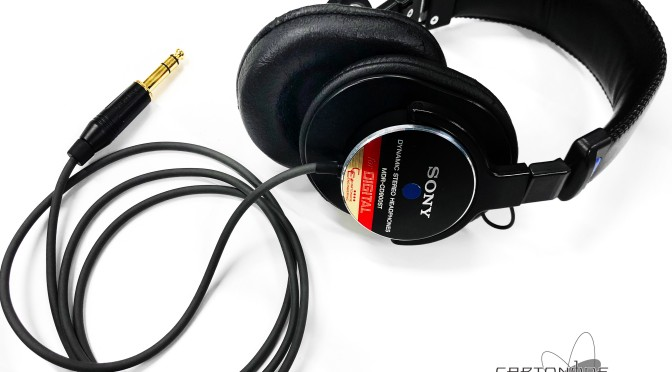 <MDR-CD900ST>4芯リケーブル