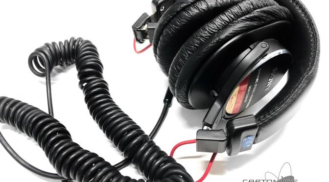 <MDR-CD900ST-CE02改>ハウジング制振加工・セットアップ