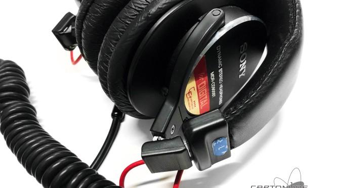 <MDR-CD900ST-CE02改>渡り線交換・セットアップ