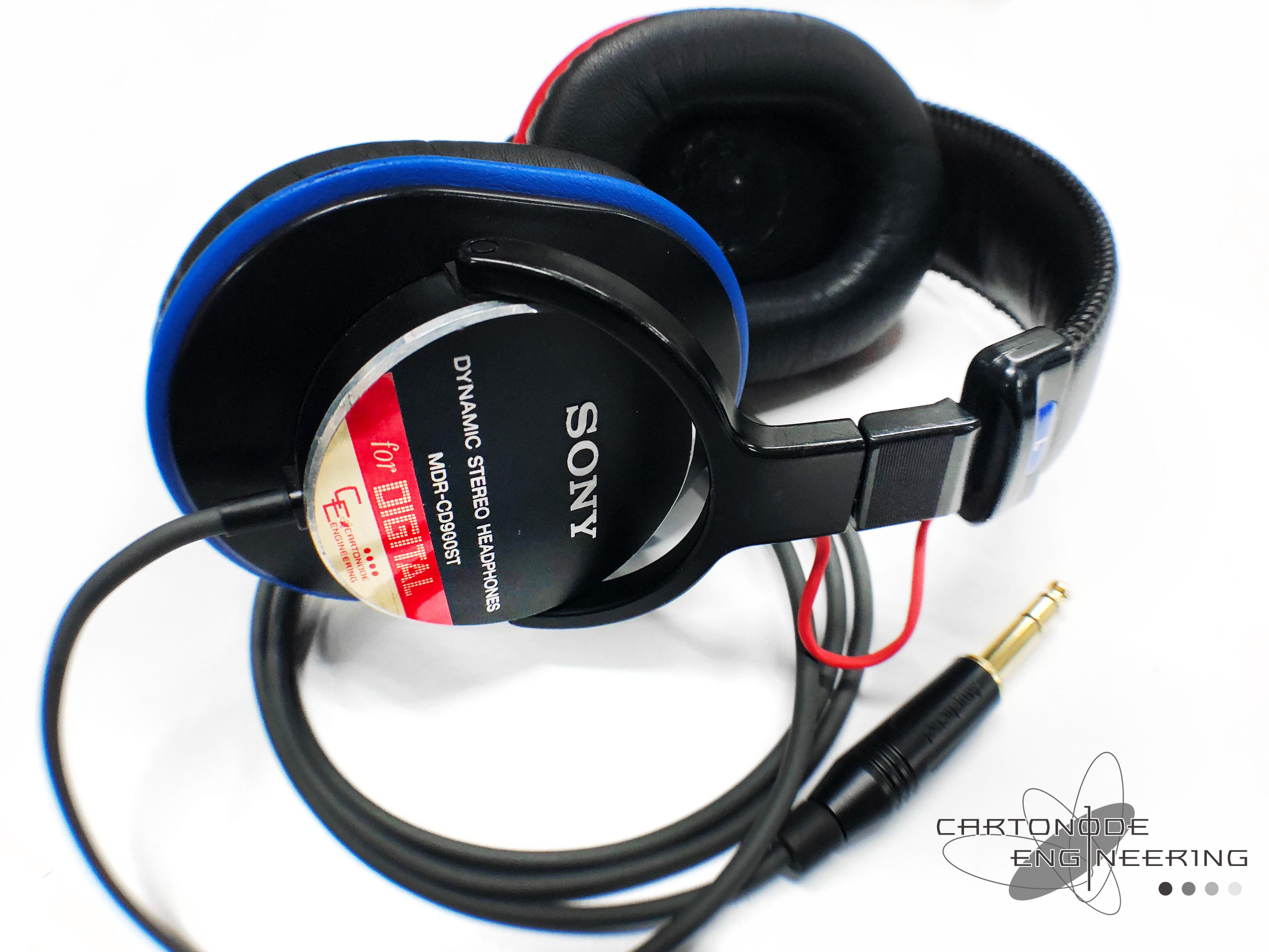 MDR-CD900ST-CE01リケーブル渡り線交換