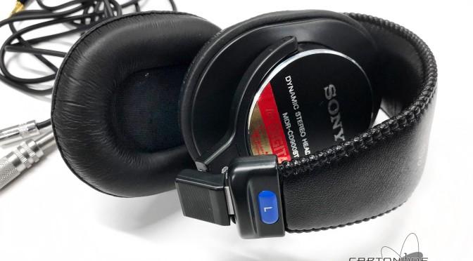 MDR-CD900sST脱着加工ケーブル製作2種