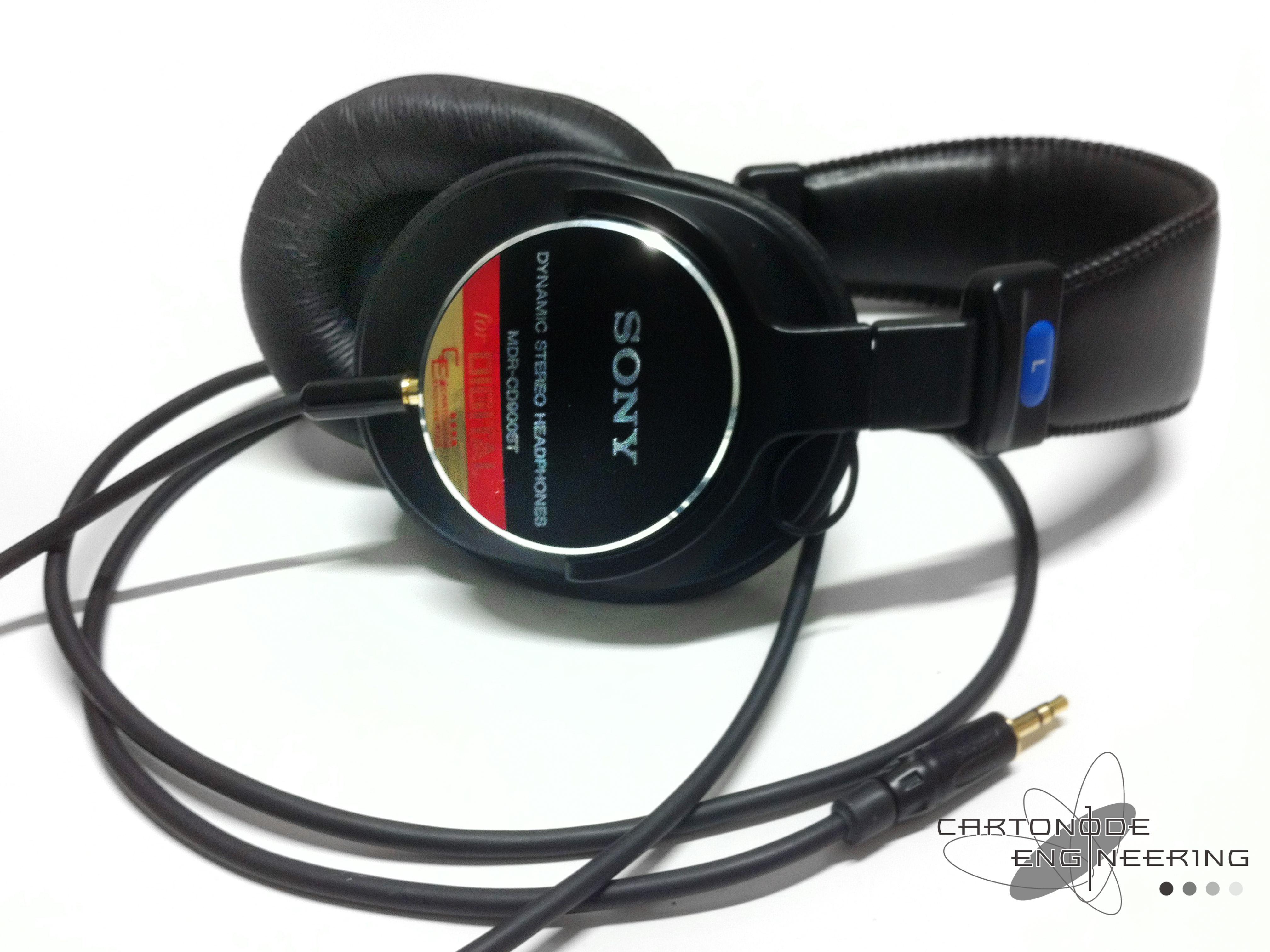 MDR-CD900ST アンバランス駆動 ケーブル脱着仕様