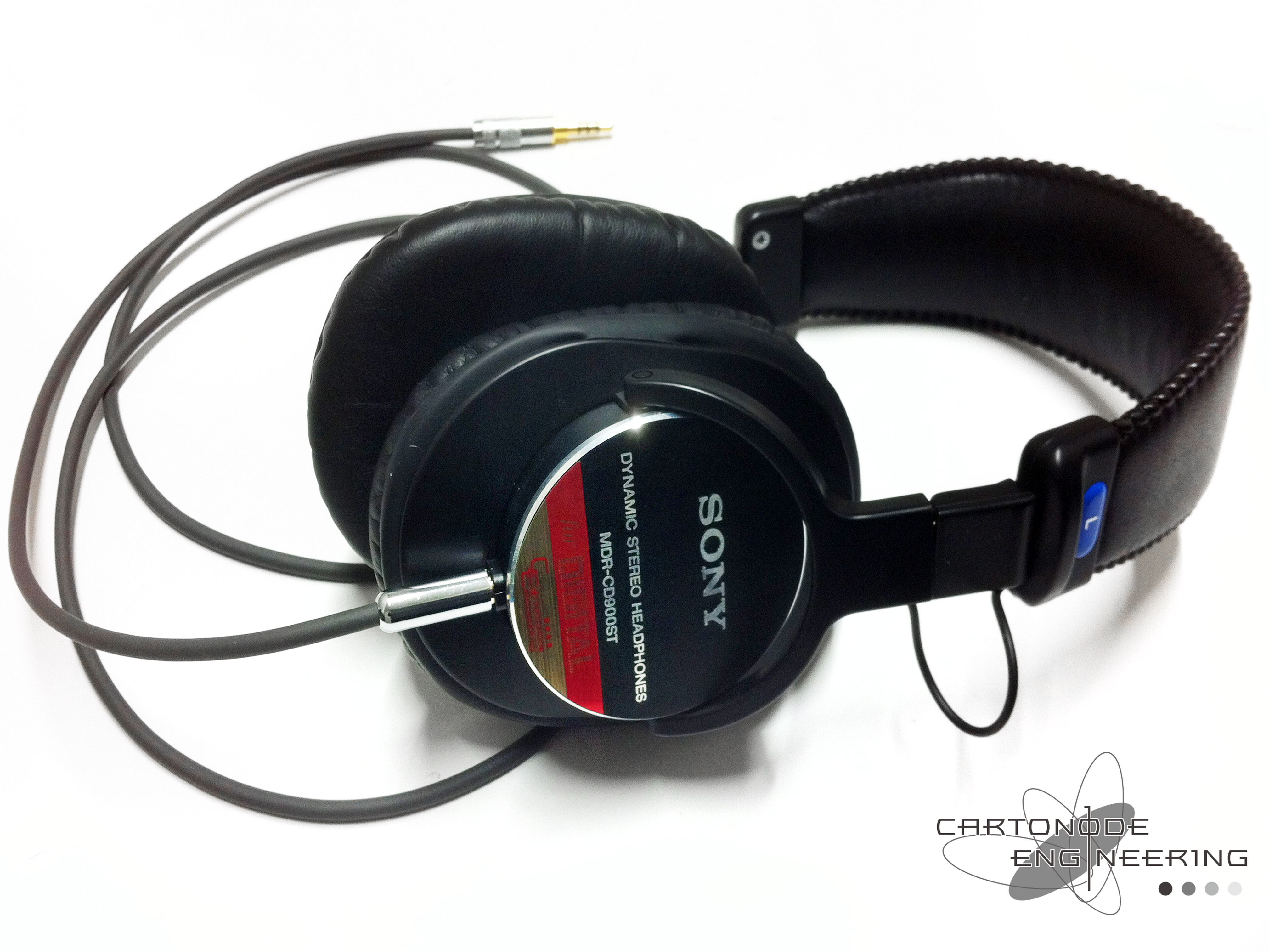 MDR-CD900ST バランス駆動 ケーブル脱着仕様