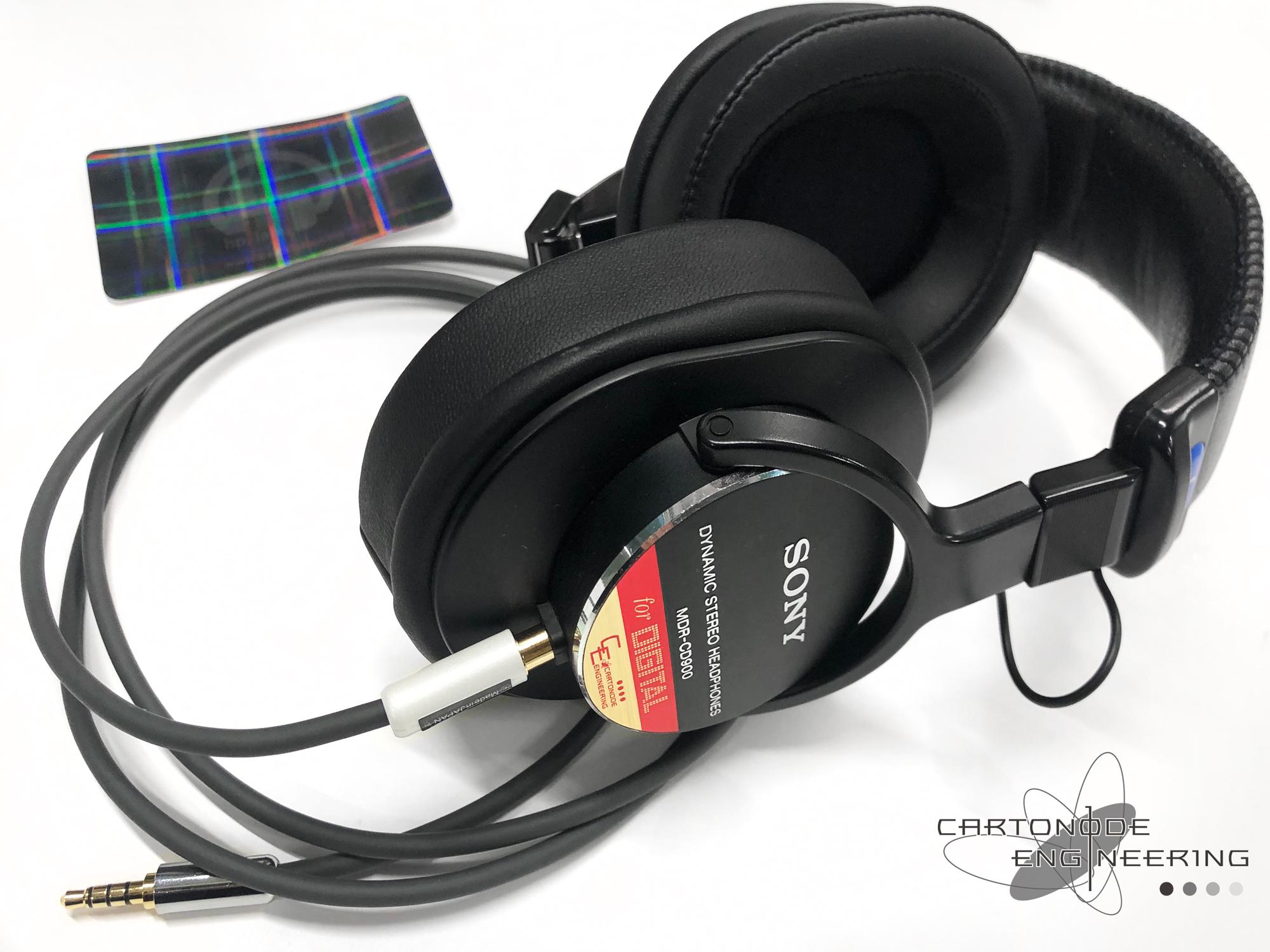 MDR-CD900 バランス脱着3.5