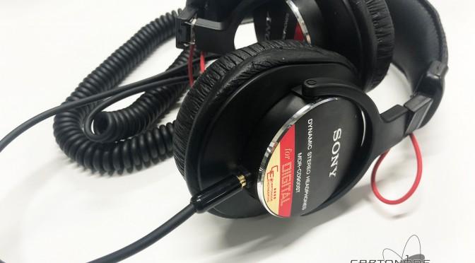 MDR-CD900ST 4芯リケーブル