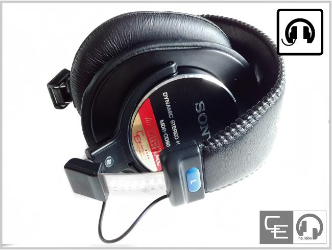 MDR-CD900ST折りたたみ加工